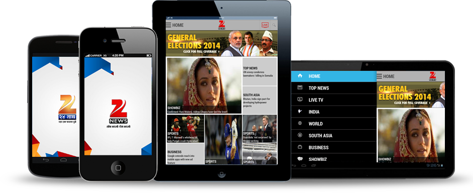 Zee News Apps for Android and iPhone - Download for free