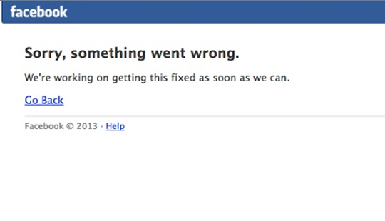 `समथिंग वेन्ट राँग`... `फेसबुक`ला मिळाली श्रद्धांजली!