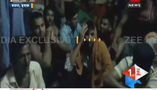 <B> <font color=red> EXCLUSIVE व्हिडिओ :</font></b> इराकमध्ये फसलेले भारतीय