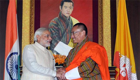 भूतान आणि भारताची बाह्य-अंतर्गत ऊर्जा सुरक्षा
