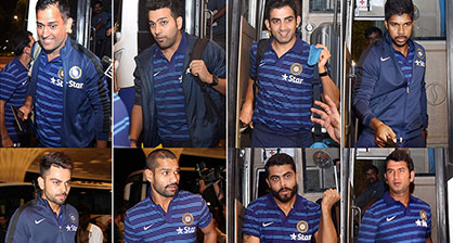 इंग्लंड दौऱ्यासाठी टीम इंडिया रवाना
