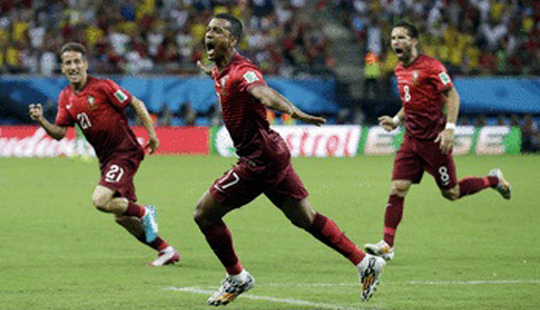 फिफा वर्ल्डकप : पोर्तुगाल अमेरिकेचा सामना 2-2 ने ड्रॉ