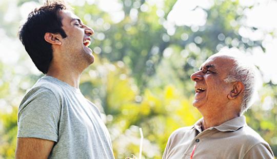सामाजिक संवाद साधा... आरोग्य मिळवा!